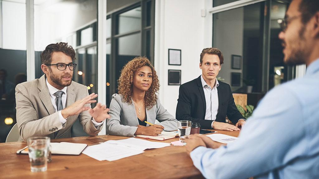 Interviews during Recruitment